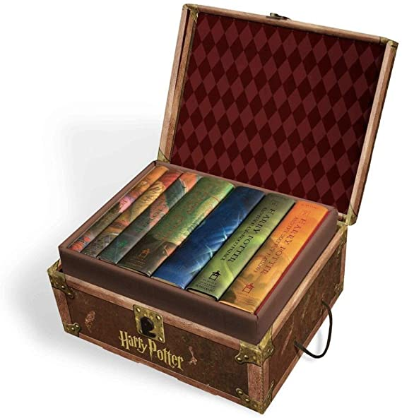Harry Potter Books Set #1-7 in Collectible Trunk-Like Toy Chest Box, Decorative Stickers   Harry Potter gift ideas   cool Harry Potter gift ideas   magical Harry Potter gift ideas   cute Harry Potter gift ideas   what to gift a harry potter fan   what is the best gift for a harry potter fan   the ultimate harry potter gift   the best harry potter gift ideas   harry potter gift for girl   harry potter gift for teacher   harry potter gift for kids   harry potter gift to buy   harry potter gift for adults   harry potter gift for him   harry potter gift for her   harry potter gift for boyfriend   harry potter gift for girlfriend   harry potter gift amazon   harry potter anniversary gift   harry potter gift bag ideas   harry potter gift box ideas   harry potter gift guide   harry potter official gift shop   harry potter gift set   Harry Potter gift guide   the best harry potter gift ideas   what to get someone who loves harry potter   harry potter hufflepuff gift ideas   harry potter Gryffindor gift ideas   harry potter Ravenclaw gift ideas   harry potter Slytherin gift ideas   harry potter graduation gift ideas   good harry potter gift ideas   great harry potter gift ideas   harry potter baby shower gift ideas   harry potter themed wedding gift ideas   unique harry potter gift ideas   harry potter valentines gift ideas   potterhead gift ideas   best potterhead gifts   cool potterhead gift ideas   Harry Potter gifts for men   Harry Potter gift box   Harry Potter gifts uk   harry potter gifts for tweens   harry potter gift basket   harry potter gift set   Harry Potter stocking stuffers   Harry Potter Christmas gifts   fantastic beasts gift guide